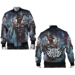 Official Shrine Of Malice Malignance Bomber Jacket - Crowdkill Apparel Death Metal Deathcore Hardcore Slam Merchandise