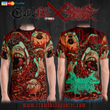 Official Cryogenic Defilement Slam Time T-Shirt - Crowdkill Apparel Death Metal Deathcore Hardcore Slam Merchandise