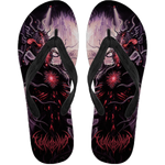 Official Vulvodynia Finis Omnium Ignorantiam Flip Flops - Crowdkill Apparel Death Metal Deathcore Hardcore Slam Merchandise