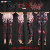 Official Vulvodynia Finis Omnium Ignorantiam Leggings - Crowdkill Apparel