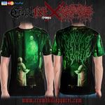 Official Gamma Sector Elements of Contamination T-Shirt - Crowdkill Apparel Death Metal Deathcore Hardcore Slam Merchandise