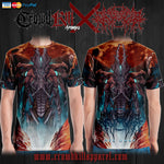 Official Gamma Sector Nex Omne T-Shirt - Crowdkill Apparel Death Metal Deathcore Hardcore Slam Merchandise