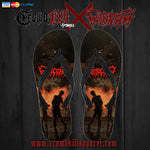 Official Gutrectomy Slamageddon Flip Flops - Crowdkill Apparel Death Metal Deathcore Hardcore Slam Merchandise