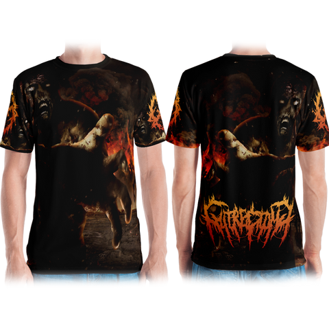 Official Gutrectomy Slamageddon T-Shirt - Crowdkill Apparel Death Metal Deathcore Hardcore Slam Merchandise