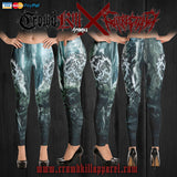 Official Gutrectomy Slampocalypse Leggings - Crowdkill Apparel Death Metal Deathcore Hardcore Slam Merchandise