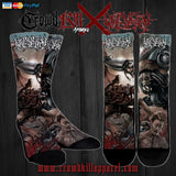 Official Harvest Misery Socks - Crowdkill Apparel