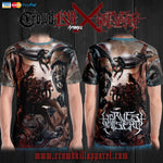 Official Harvest Misery T-Shirt - Crowdkill Apparel Death Metal Deathcore Hardcore Slam Merchandise