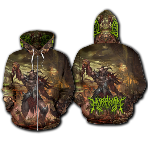 Official Hurakan Abomination Of Aurokos Zip-Up
