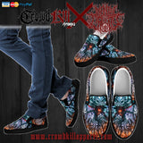 Official Mental Cruelty Purgatorium Slip Ons - Crowdkill Apparel