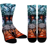 Official Mental Cruelty Purgatorium Socks - Crowdkill Apparel Death Metal Deathcore Hardcore Slam Merchandise