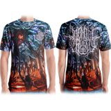 Official Mental Cruelty Purgatory All Over Print Tee - Crowdkill Apparel Death Metal Deathcore Hardcore Slam Merchandise