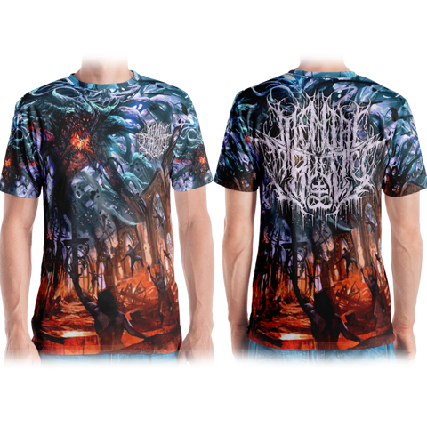 Official Mental Cruelty Purgatory All Over Print Tee