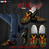 Official Vulvodynia Pickle Rick Slip Ons - Crowdkill Apparel