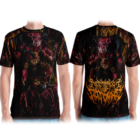 Official Architect Of Dissonance Realm Of The Deviant Throne T-Shirt