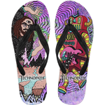 Official Technopath Flip Flops - Crowdkill Apparel Death Metal Deathcore Hardcore Slam Merchandise