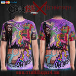 Official Technopath All Over Print Tees - Crowdkill Apparel Death Metal Deathcore Hardcore Slam Merchandise