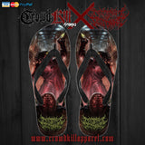 Limited Edition Architect Of Dissonance VMOOHV Flip Flops - Crowdkill Apparel