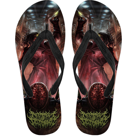 Official Architect Of Dissonance VMOOHV Flip Flops