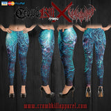 Official Vulvodynia Cognizant Castigation Leggings - Crowdkill Apparel