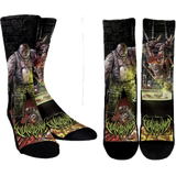 Official  Vulvodynia Psychosadistic Design Socks - Crowdkill Apparel