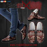 Official Xavleg Gore 2.0 Mens Slip Ons - Crowdkill Apparel