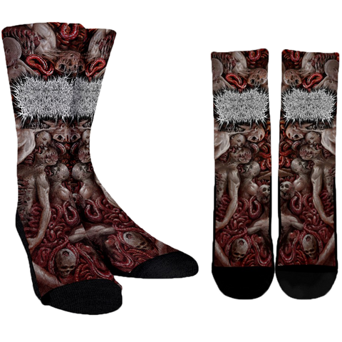 Official Xavleg Gore 2.0 Socks - Crowdkill Apparel