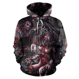 Official Slamentation Procreating A New Body Art Pullover - Crowdkill Apparel Death Metal Deathcore Hardcore Slam Merchandise