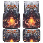 Official Acrania Tyrannical Hierarchy Car Floor Mats - Crowdkill Apparel Death Metal Deathcore Hardcore Slam Merchandise