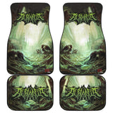 Official Acrania The Beginning of the End Car Floor Mats - Crowdkill Apparel Death Metal Deathcore Hardcore Slam Merchandise