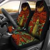Official Vulvodynia Pickle Rick Car Seat Cover - Crowdkill Apparel