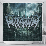 Official Gutrectomy Slampocalypse Shower Curtain