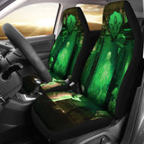 Official Gamma Sector Elements of Contamination Car Seat Cover - Crowdkill Apparel
