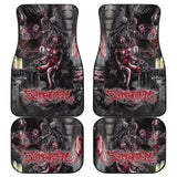 Official Slamentation Procreating A New Body Art Car Floor Mats - Crowdkill Apparel Death Metal Deathcore Hardcore Slam Merchandise