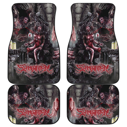 Official Slamentation Procreating A New Body Art Car Floor Mats