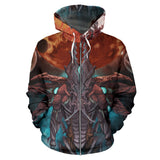 Official Gamma Sector Nex Omne Zip-Up