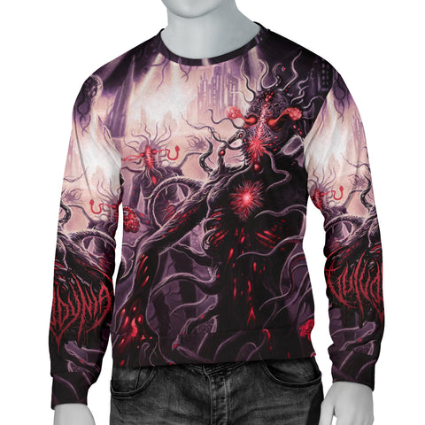 Official Vulvodynia Finis Omnium Ignorantiam Crewneck Sweater - Crowdkill Apparel Death Metal Deathcore Hardcore Slam Merchandise