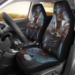 Official Shrine Of Malice Malignance Car Seat Covers - Crowdkill Apparel Death Metal Deathcore Hardcore Slam Merchandise