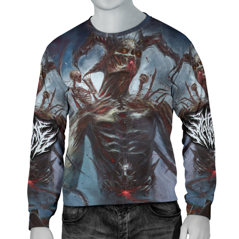 Official Shrine Of Malice Malignance Sweater - Crowdkill Apparel Death Metal Deathcore Hardcore Slam Merchandise