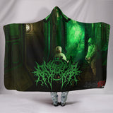 Official Gamma Sector Elements of Contamination Hooded Blanket - Crowdkill Apparel Death Metal Deathcore Hardcore Slam Merchandise