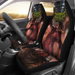 Official Architect Of Dissonance Vile Mechanical Origin Of Human Virulency Car Seat Cover - Crowdkill Apparel Death Metal Deathcore Hardcore Slam Merchandise