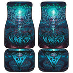 Official Vulvodynia Cognizant Castigation Car Floor Mats - Crowdkill Apparel Death Metal Deathcore Hardcore Slam Merchandise