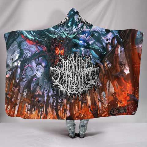 Official Mental Cruelty Purgatorium Hooded Blanket
