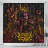 Official Architect of Dissonance  Realm Of The Deviant Throne Shower Curtain