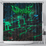 Official Wormhole Genesis Chamber Shower Curtain
