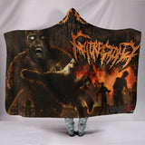 Official Gutrectomy Slamageddon Hooded Blanket - Crowdkill Apparel Death Metal Deathcore Hardcore Slam Merchandise