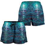 Official Vulvodynia Cognizant Castigation Booty Shorts - Crowdkill Apparel Death Metal Deathcore Hardcore Slam Merchandise