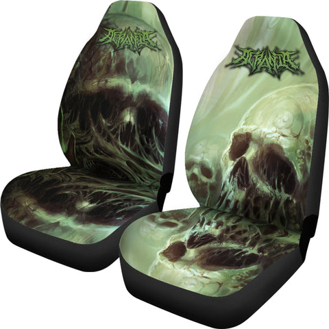 Official Acrania The Beginning of the End Car Seat Covers - Crowdkill Apparel Death Metal Deathcore Hardcore Slam Merchandise