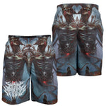 Official Shrine Of Malice Malignace Shorts - Crowdkill Apparel Death Metal Deathcore Hardcore Slam Merchandise