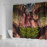 Official Architect Of Dissonance Vile Mechanical Origin Of Human Virulency Shower Curtain