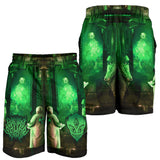 Official Gamma Sector Elements Of Contamination Shorts - Crowdkill Apparel Death Metal Deathcore Hardcore Slam Merchandise